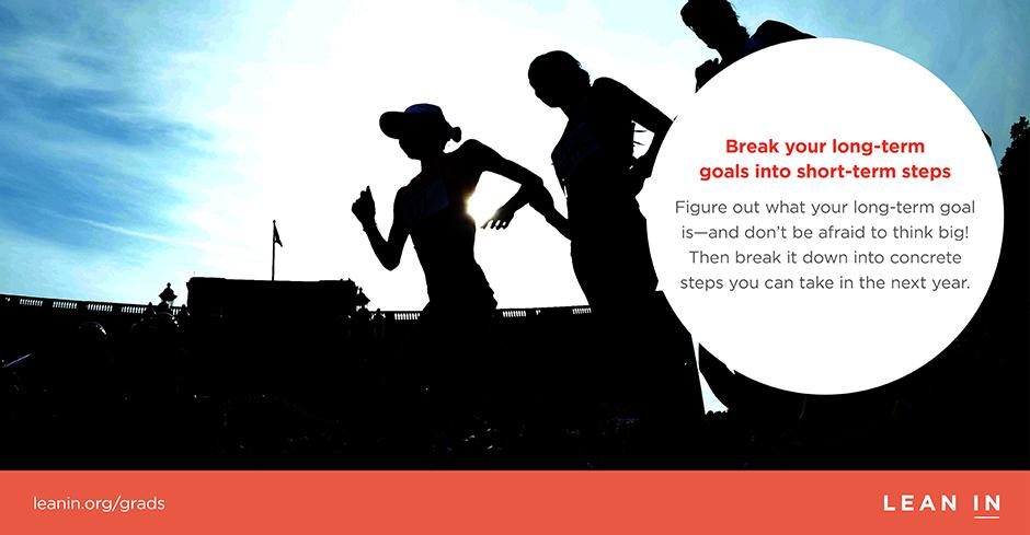 Tip 4: Break long-term goals into short-term steps