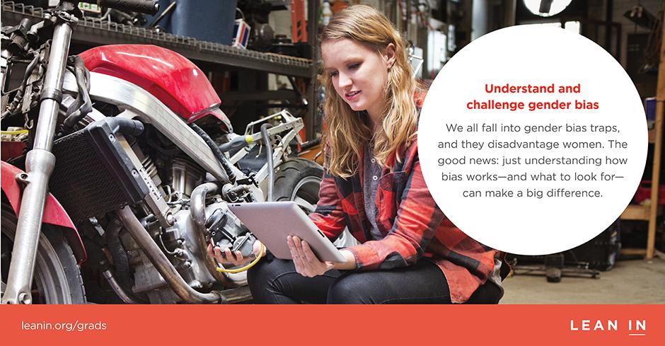 Tip 8: Understand and challenge gender bias